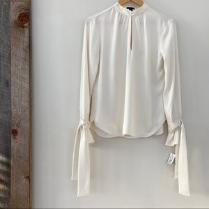 Ann Taylor blouse with bell sleeves